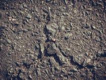 Grey clay, concrete wall with cracks Stock Photos