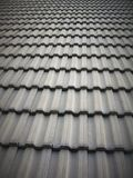 Grey clay tile roof Royalty Free Stock Photography