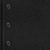 Grey cloth canvas background. With seam and buttons or black wool texture Royalty Free Stock Photo