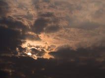 Grey Clouds Cover The Sun fotos de archivo libres de regalías