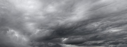 Grey clouds Royalty Free Stock Photography
