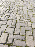 Grey cobblestone Stock Photography