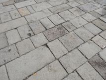 Grey cobblestone texture background Royalty Free Stock Photos