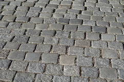 Grey Cobblestones Texture immagine stock
