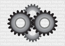 Grey cogwheel Stock Photo