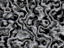 Grey color concrete swirls Royalty Free Stock Photography