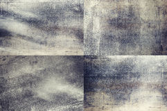 Grey colored grunge texture backgrounds Royalty Free Stock Photos
