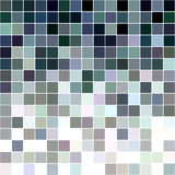 Grey and colorful square mosaic background. Grey and colorful square mosaic vector background design Royalty Free Stock Photos