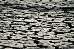Grey coloured dried isolated soil stock photograph stock photography