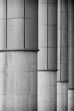 Grey Columns Royalty Free Stock Photos