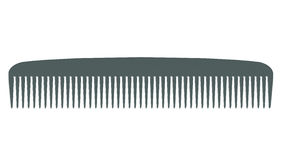 Grey comb Stock Photo
