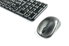 Computer mouse isolated on white background. stock image