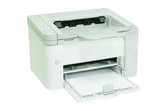 Grey computer printer Stock Images