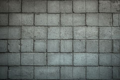 Grey concrete background with square bricks Stock Images