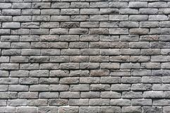Grey concrete block wall background texture stock image