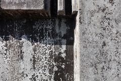 Grey concrete blocks surface Stock Image