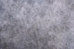 Grey concrete polishing floor. Grey background stock photography