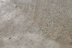 Grey concrete rough wall background Royalty Free Stock Image