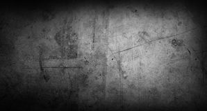 Grey concrete wall. Closeup of textured grey concrete background Royalty Free Stock Images