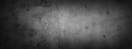 Grey concrete wall Stock Photography