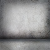 Grey concrete wall and floor Royalty Free Stock Image