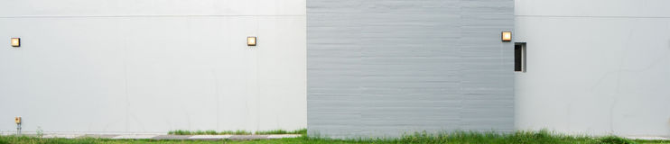 Grey concrete wall Royalty Free Stock Photography