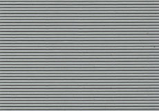 Grey Corrugated Paper - High Resolution. Corrugated art board suitable for a variety of backgrounds royalty free stock photography