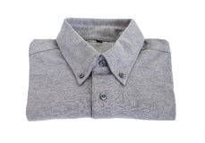 Grey cotton shirt Royalty Free Stock Photography