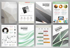 Grey creative backgrounds and abstract concept infographics Stock Photos
