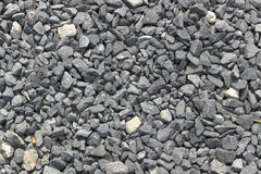 Grey Crushed Stone Grus textur Royaltyfri Bild