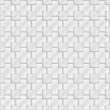 Grey cube ornament pattern Royalty Free Stock Photo