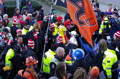 2014 Grey Cup Fan March Royalty Free Stock Image