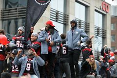 Grey Cup Parade in Ottawa Stock Photography