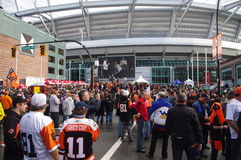 The Grey Cup tailgate party