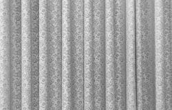 A grey curtain Royalty Free Stock Photo