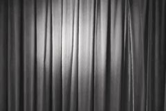 Grey curtain, vector Stock Images