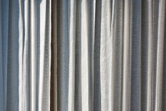Grey curtains Royalty Free Stock Images