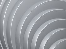 Grey curve of cylinder Stock Images