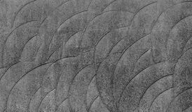 Grey Curve Texture Royaltyfri Foto