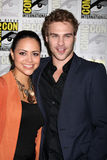 Grey Damon, Alyssa Diaz Royalty Free Stock Photography
