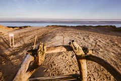 Grey Dead Dunes, Curonian Spit, Lithuania Stock Photos