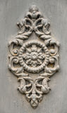 Grey decorative moulding Royalty Free Stock Photo