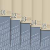 Grey design template stock illustration