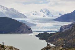 Grey di Glaciar Immagini Stock Libere da Diritti