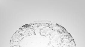 Grey 2 di introduzione del plesso della terra illustrazione di stock