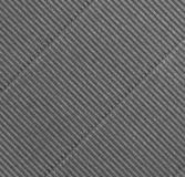 Grey diagonal corrugations Royalty Free Stock Image