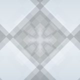 Grey diamond background with deep squares Royalty Free Stock Photography
