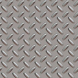 Grey diamond plate. A grey diamond plate texture that can be tiled seamlessly, for use in both print and web design Stock Image