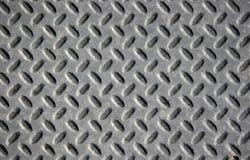 Grey Diamond Plate Royalty Free Stock Photos