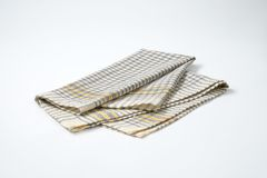 Grey dishtowel Stock Photos